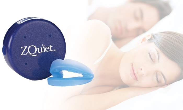 ZQuiet Stop-Snoring Device: $34 for a ZQuiet Anti-Snoring Device ($69.90 List Price). Free Shipping.