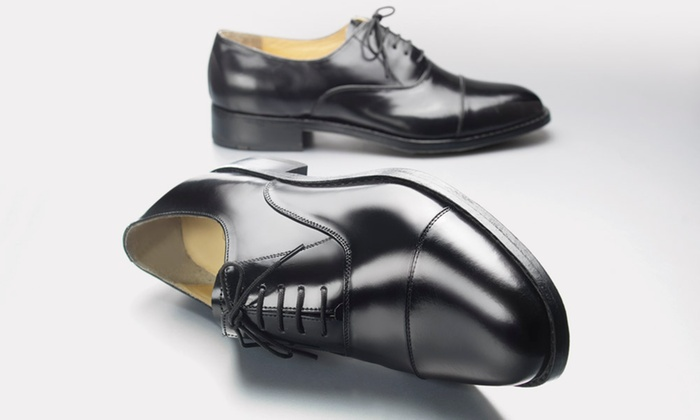 samuel windsor uk: Men's Handmade Leather Shoes: One (£29.95) or Two (£54.95) Pairs (Up to 73% Off)