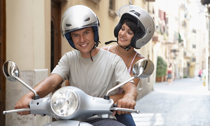 Scooter, Motorcycle, or Bike Rentals at Hot Scooter Rental (Up to 63% Off). Six Options Available.