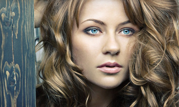 Phoenix Salon - Northwest Columbia: Haircut with Conditioning Treatment, Single-Process Color, or Partial Highlights at Phoenix Salon (Up to 71% Off)