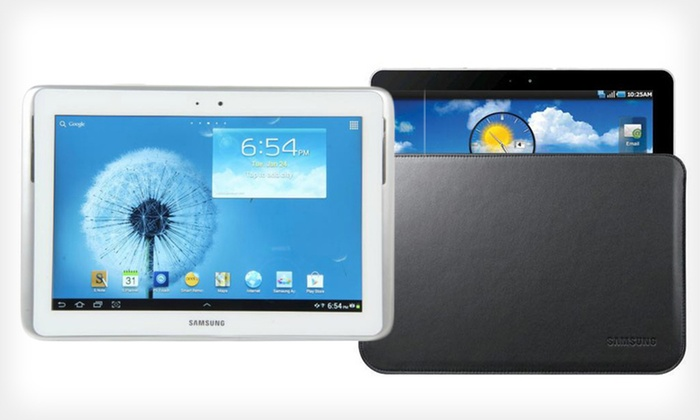 "Samsung Galaxy Note 10.1"" Tablet and Sleeve: $399 for Samsung Galaxy Note 16GB 10.1"" Tablet and Sleeve (Refurbished) ($499.99 List Price). Free Shipping and Returns."