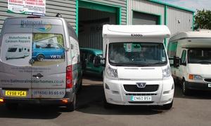 Balmoral Motorhomes Ltd: Motorhome or Caravan Habitation Service with Balmoral Motorhomes (56% Off)