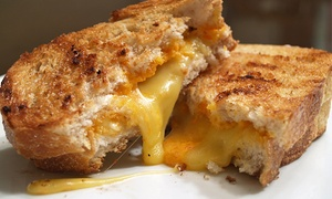 Epic Melt: $12 for Two Groupons, Each Good for $10 Worth of Grilled Sandwiches at Epic Melt ($20 Total Value)
