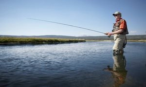 Dickson Flyfishing: Lake-Casting or Lake-Fishing Class for One, Two, or Four from Dickson Flyfishing (Up to 68% Off)