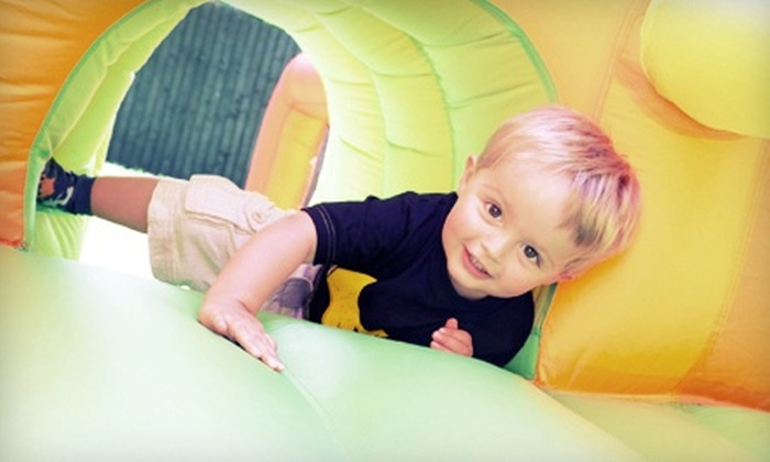 Jump Oasis - Snellville-Grayson: 10 Indoor Bounce Sessions for Ages 1–3 or 4–16 or a Birthday Package at Jump Oasis (Up to 52% Off)
