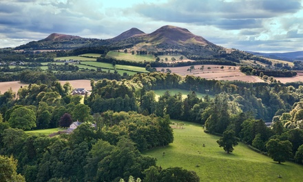 Scottish Borders: 1 to 3 Nights for 2 with Breakfast and Option for Dinner at George & Abbotsford Hotel