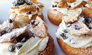 $14 for Two Groupons, Each Good for One Dozen Donuts at Adrienne & Co Donuts and Desserts ($26 Value)