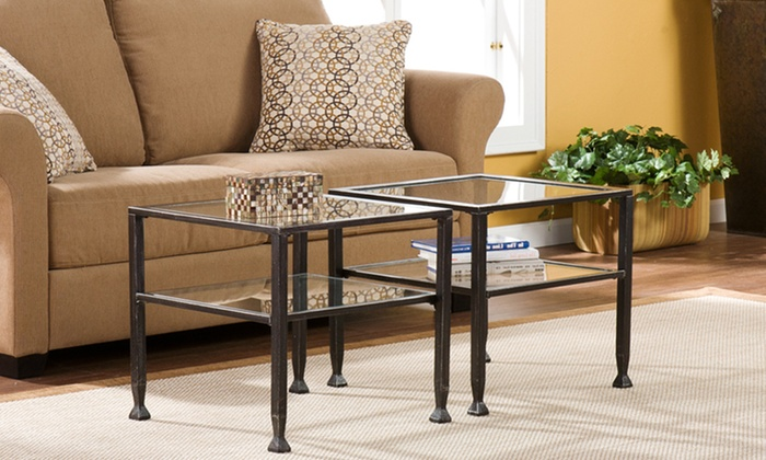 Cosmopolitan Metal Cocktail Table: $64.99 for a Cosmopolitan Metal Cocktail Table ($119.22 List Price). Free Shipping and Free Returns.