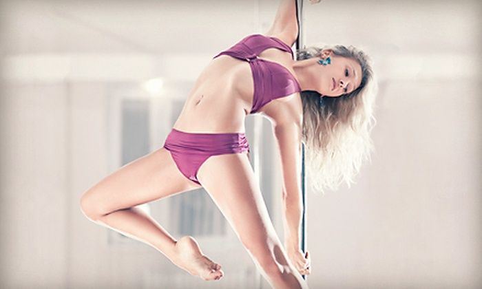 Simpoley Dance - Barrett Brothers: Two Taste of Pole Classes or a Private One-Hour Pole-Dance Party for Up to 10 Guests at Simpoley Dance (Up to 59% Off)