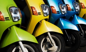 Hoot Scoot Rentals: Scooter Rental for One or Two from Hoot Scoot Rentals (Up to 47% Off)