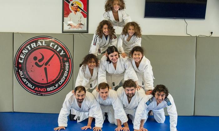 Central City Jiu Jitsu And Self Defense - Tampa Heights: $150 for $250 Groupon — Central City Jiu Jitsu and Self Defense