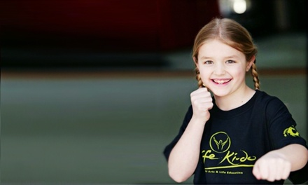 Martial-Arts Classes or Camps for Kids at Life Ki-do (Up to 81% Off). Six Options Available.
