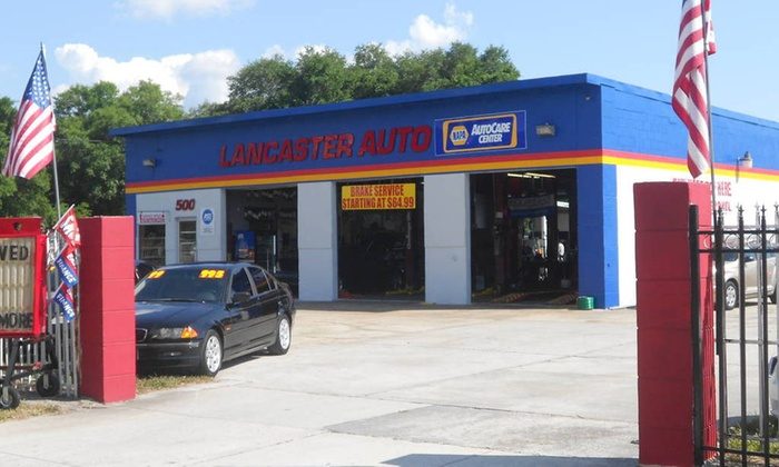 Lancaster Auto and Tire co - Pine Castle: Oil Change, Tire Rotation, and Safety Inspection from Lancaster Auto Care (33% Off)