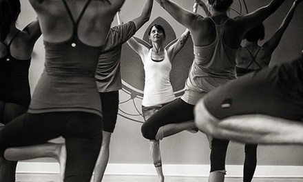 One Month of Unlimited Yoga Classes or a Five-Class Pass at Sage Yoga & Wellness (Up to 64% Off)