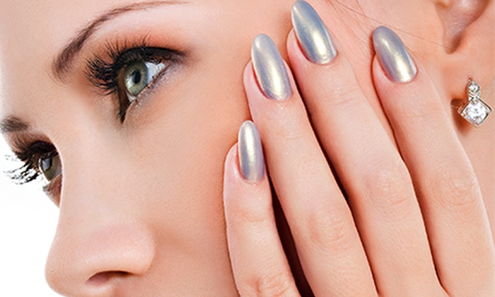 EnvyUs Salon - Elkhorn: Manicures and Pedicures at EnvyUs Salon (Up to 57% Off). Four Options Available.