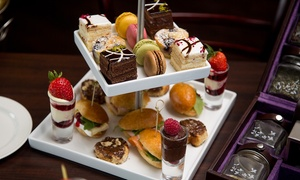 Hilton Bath City: Afternoon Tea with a Glass of Sparkling Wine for One, Two or Four at Hilton Bath City (Up to 59% Off)