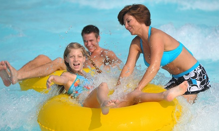 Water-Park Visit for Two or Four with Parking at Nashville Shores (Up to 51% Off)