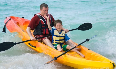 One- or Two-Hour Kayak Rentals for One or Two People from Jet Ski Rentals & Tours (Up to 61% Off)