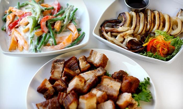 Casa Manila - York Mills: Filipino Food at Casa Manila (Up to 50% Off)