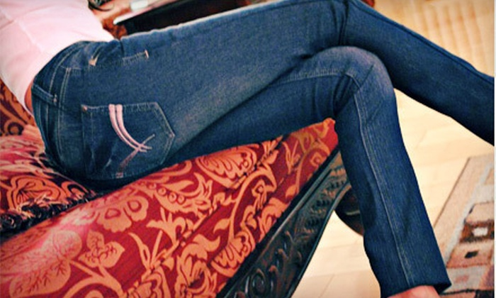 B.Z.N.Y.: One or Three Pairs of Men's or Women's Fleece-Lined Jeans from B.Z.N.Y. (Up to 69% Off)