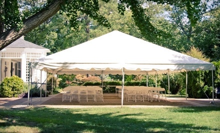 $100 Worth of Tent and Party-Supply Rentals - Black Rose Rentals in