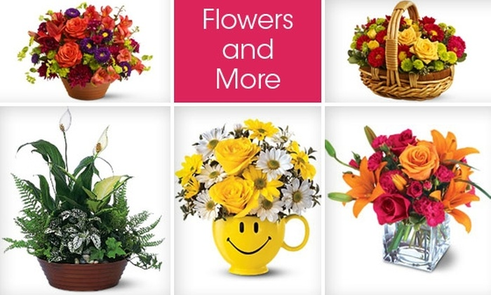 Flowers and More Dallas - Dallas: $35 for Flower Arrangement and Delivery from Flowers and More ($65 Value)