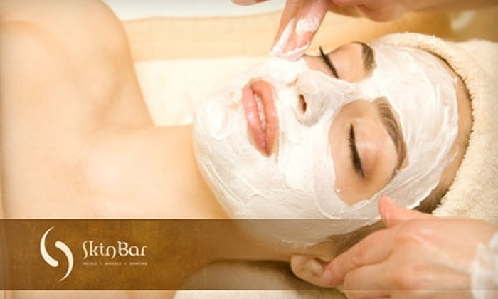 Skin Bar - MacDonald Ranch: $37 for Signature Facial and Upper-Body Massage at Skin Bar in Henderson