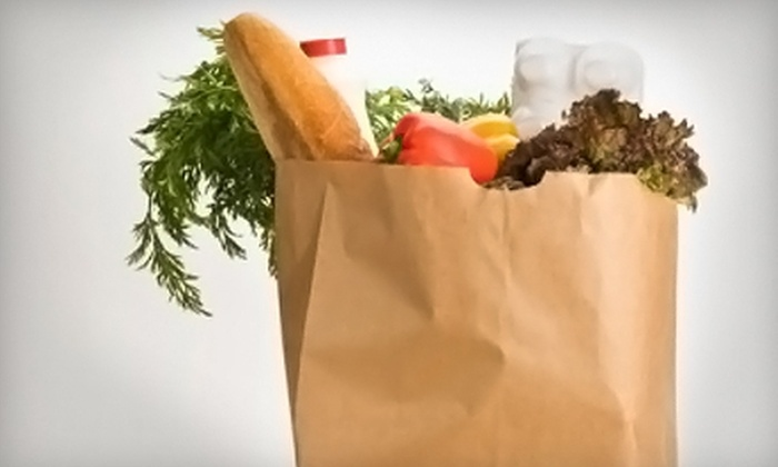 Grocery 2 Go: $20 for Three Grocery Deliveries from Grocery 2 Go (Up to $87 Value)