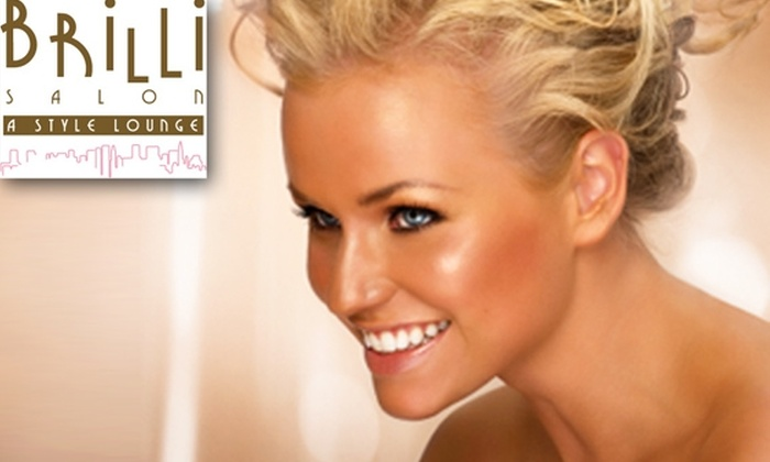 Brilli Salon - Lakeview: Three Customized Airbrush Tans for the Price of One at Brilli Salon