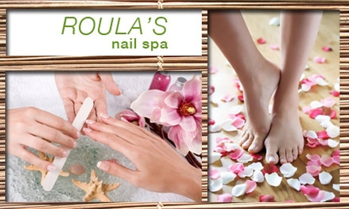 Roula's - Greenway/ Upper Kirby: $45 for a Signature Mani-Pedi at Roula's Nail Spa