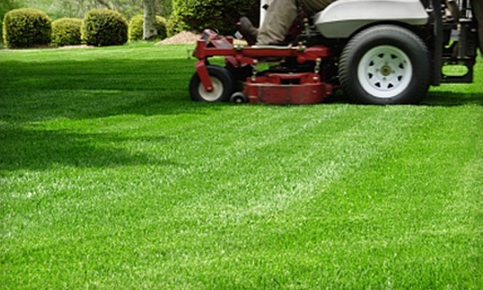 Appleton Lawn Care Services - Homestead Meadows: Two Lawn Cuts or Core Aeration from Appleton Lawn Care Services