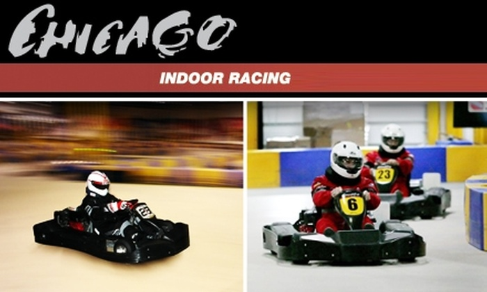 Chicago Indoor Racing & Cybersport - Chicago: $50 for a Racing Package and One-Year License at Chicago Indoor Racing in Buffalo Grove or Addison