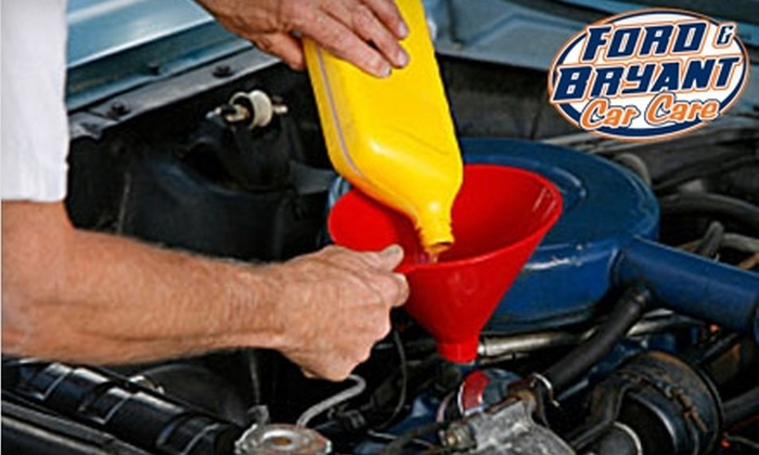 Ford & Bryant Car Care - Salina: $24 for an Oil Change and Tire Rotation at Ford & Bryant Car Care ($56 Value)
