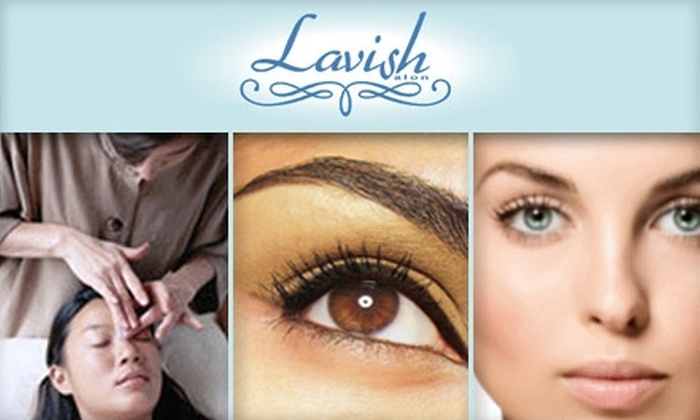 Salon Lavish - Tampa Bay Area: $6 for an Eyebrow or Lip Wax at Salon Lavish ($12 Value)