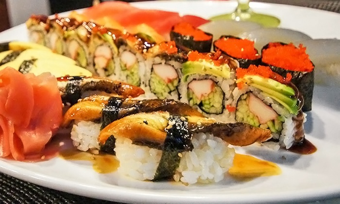 Sushi King - Multiple Locations: All-You-Can-Eat Lunch or Dinner at Sushi King (Up to 43% Off). Three Options Available.
