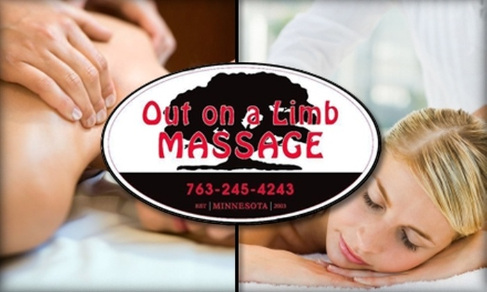 Out on A Limb Massage - Mound: $55 Massage at Out on A Limb Massage (Up to $125 Value)
