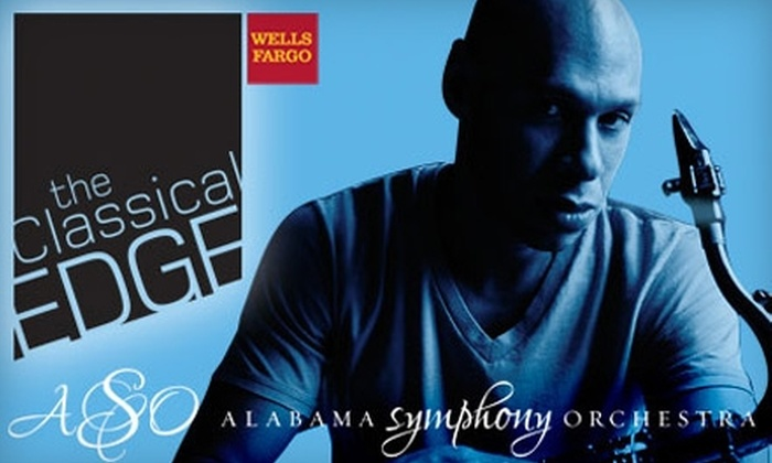 Alabama Symphony Orchestra - Birmingham: $15 for One Ticket to a Wells Fargo Classical EDGE Concert Featuring Joshua Redman with the Alabama Symphony Orchestra ($37.50 value)