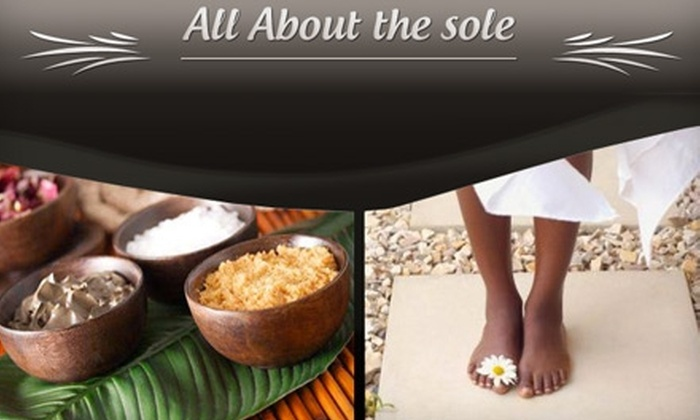 All About the Sole - Farmington: $35 for a Signature Chocolate Manicure and Pedicure at All About the Sole ($90 Value)