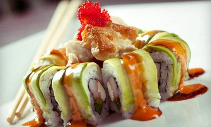 Aoi Blue Bar - Linworth Village: $15 for $30 Worth of Sushi & Contemporary Japanese Dinner at Aoi Blue Bar