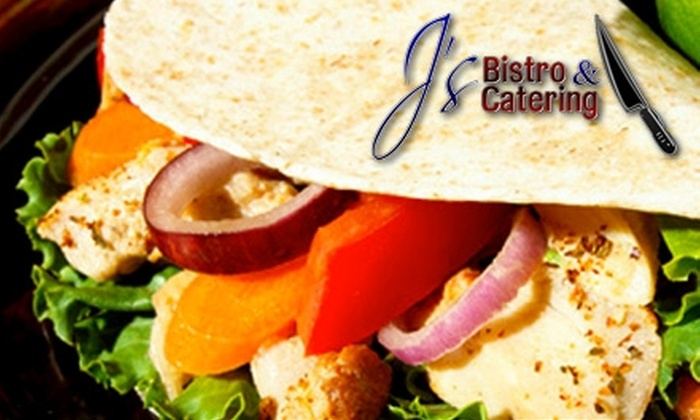 J's Bistro & Catering - Northwest Pensacola: $15 for $30 Worth of French-Creole Cuisine for Dinner at J's Bistro & Catering in the Days Inn (or $6 for $12 Worth of Lunch)