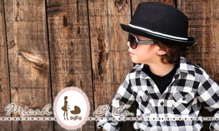 Micah & Co.: $20 for $40 Worth of Mom and Baby Merchandise at Micah & Co.
