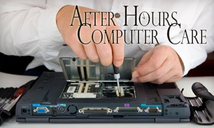 After Hours Computer Care - Topeka / Lawrence: $50 for $100 Worth of Computer Repair Services from After Hours Computer Care