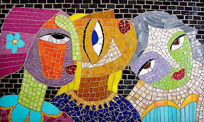 Maverick Mosaics Art School & Studio - Vienna: $49 for a Mosaic Express Introductory Mosaic-Making Class at Maverick Mosaics Art School & Studio in Vienna ($99 Value)