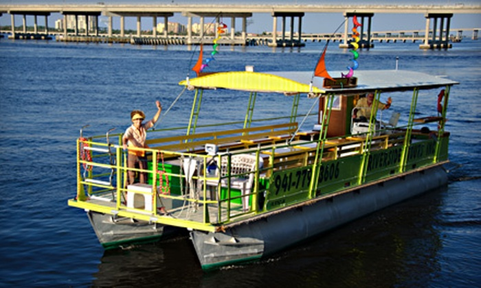 Riverside Tours - Multiple Locations: $25 for a Two-Hour Sightseeing River Cruise for Two from Riverside Tours ($50 Value)