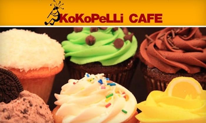 Kokopelli Café  - Dunbar-Southlands: $8 for Half a Dozen Cupcakes at Kokopelli Café ($16 Value)