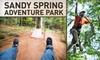56% Off at Sandy Spring Adventure Park