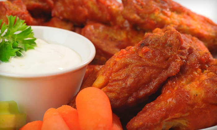 Wing Zone - Holly Hill: Regular or Jumbo Wing, Chicken Tenders, and Wedge Fries at Wing Zone (Up to 53% Off)