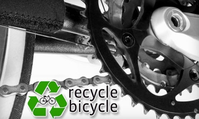 Recycle Bicycle - South Berkeley: $30 for a Comprehensive Bike Tune-Up at Recycle Bicycle