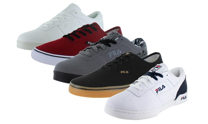 fila shoes new high cut pitufo groupon merchant
