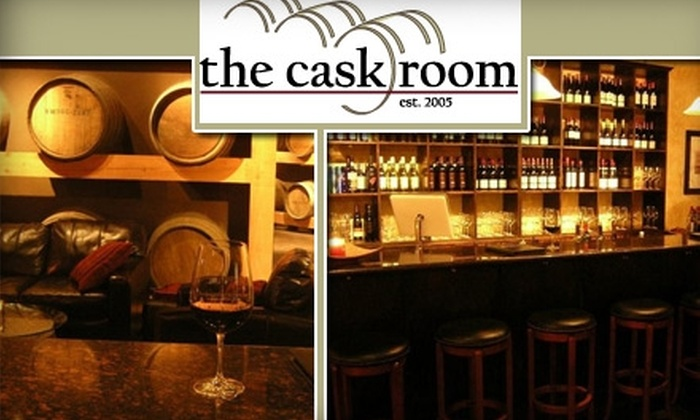 The Cask Room - East Village: $15 for $35 Worth of International Wines and Meals at The Cask Room